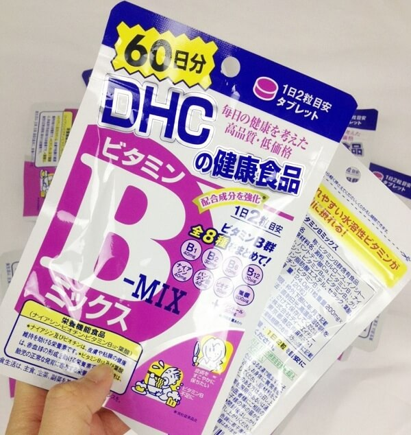 Viên Uống DHC B Mix Bổ Sung Vitamin B Của Nhật, 40 viên