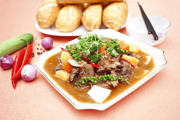 Cách nấu Bò nấu tiêu xanh, Pate gan ăn với bánh mì thơm ngon đơn giản chỉ 5 bước tại nhà
