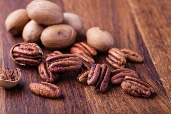 Hạt quả Hồ đào - Tên tiếng Anh Pecan Nuts