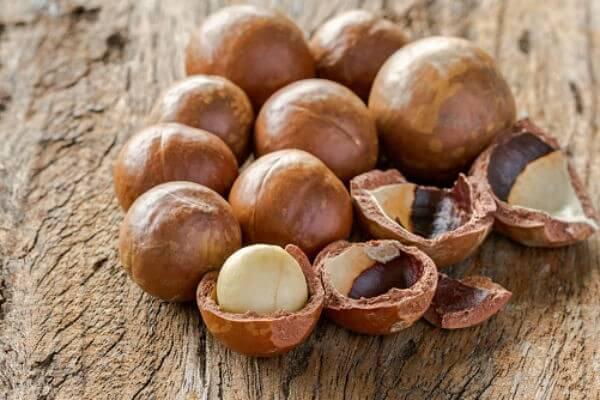 Hạt quả Macca (mắc ca) - Tên tiếng Anh Macadamia Nuts