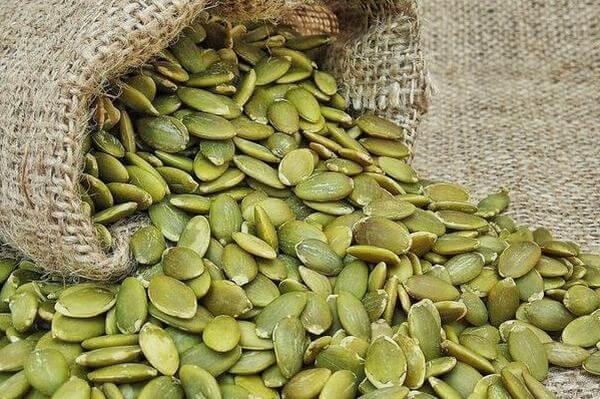 Hạt bí ngô - kẽm có nhiều trong thực phẩm nào