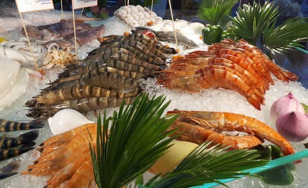 Thịt động vật có vỏ - kẽm có nhiều trong thực phẩm nào