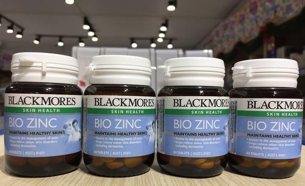 Viên uống Blackmores Bio Zinc