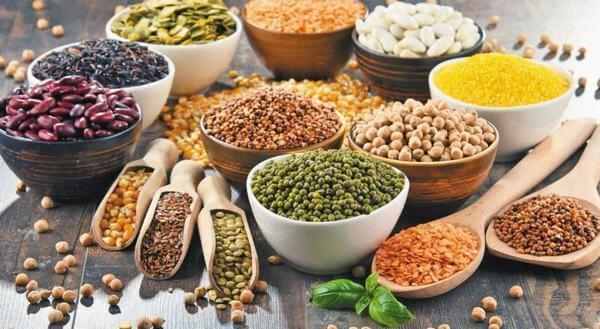 Ngũ cốc - thức ăn chứa nhiều kẽm