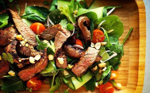 Cách làm món Salad bắp bò