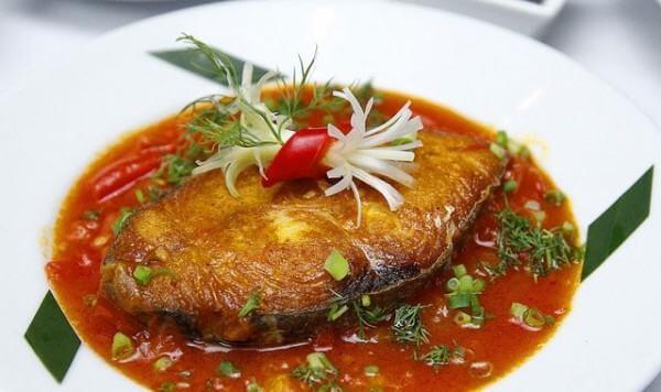 Cách làm món cá tầm sốt cà chua đơn giản mà ngon miệng