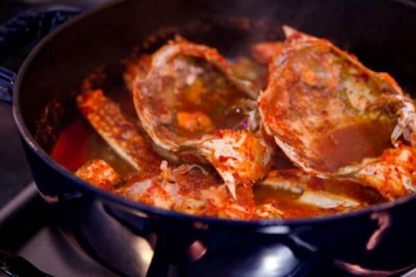 Cách nấu món cua sốt ớt kiểu Hàn