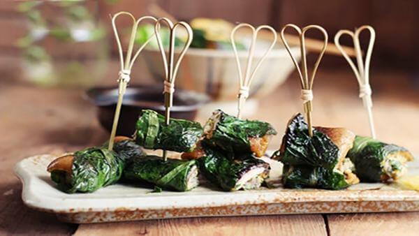 Cách làm món chả lươn quấn lá lốt