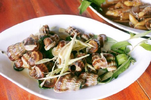 Món ngon từ ốc len: Ốc len xào dừa