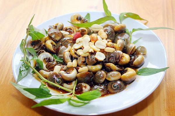 Món ngon từ ốc mỡ: Ốc mỡ xào sa tế