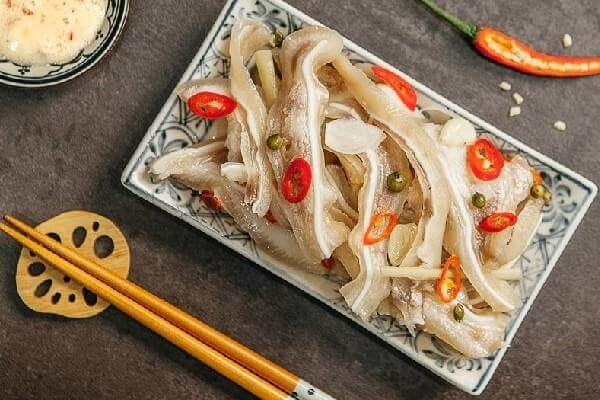 6 món ngon từ tai heo, cách chế biến tai lợn thành món ăn, món nhật ngon nhất, đơn giản dễ làm