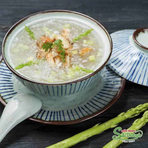 Cách nấu súp măng tây đơn giản tại nhà