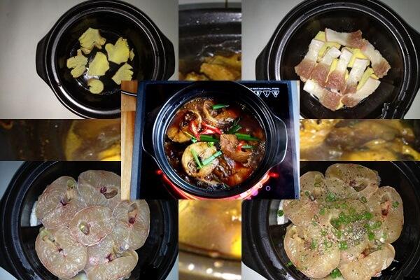 3 cách nấu cá lóc kho tộ, cá lóc kho tiêu với thịt ba chỉ ngon theo 3 miền Tây Nam Bắc