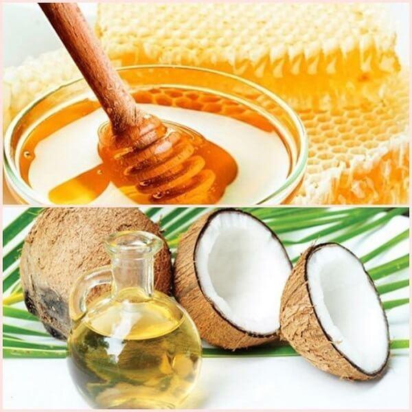 Cách làm đẹp da mặt bằng dầu dừa kết hợp với mật ong và lòng trắng trứng giúp da mịn màng, xóa mờ thâm nám.