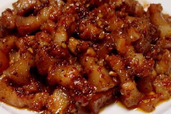 Mắm ruốc xào thịt ba chỉ – cách làm mắm ruốc xào thịt