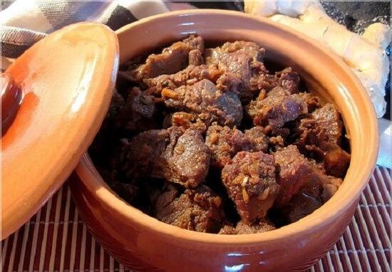 Cách nấu bò kho gừng sả thơm ngon bằng thịt bắp bò, nạm bò