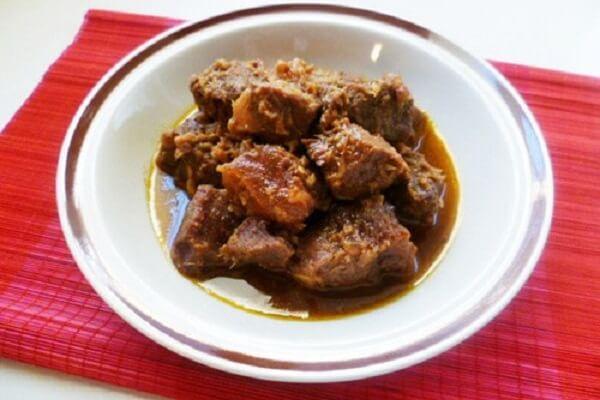 Cách làm thịt bắp bò kho gừng kiểu Bắc mềm