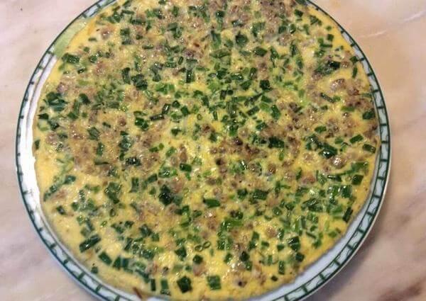 Cách làm món trứng chiên hến lạ mắt ngon miệng