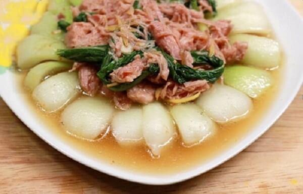 Cách nấu thịt hộp kiểu miền Trung