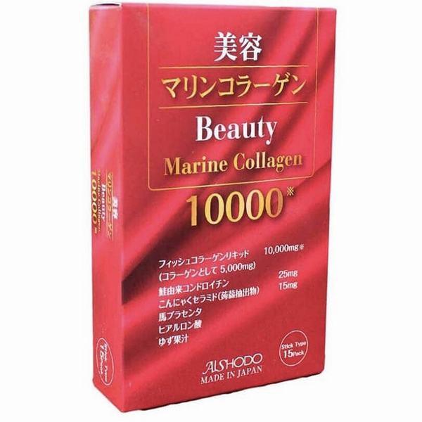 Hàm lượng có trong Beauty Marine Collagen là rất cao lên đến 10.000mg