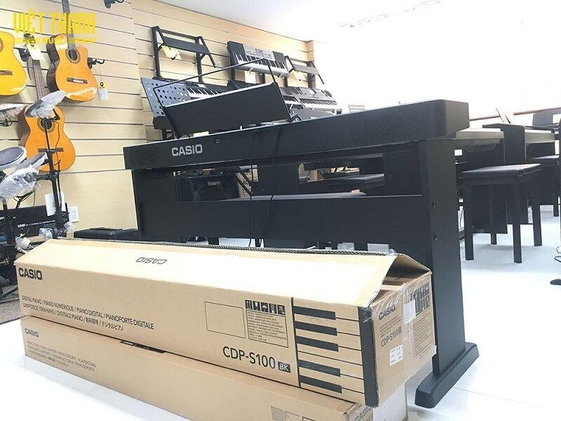 Casio CDP S100 là cây đàn piano điện được Casio Nhật Bản ra mắt vào thời gian gần đây