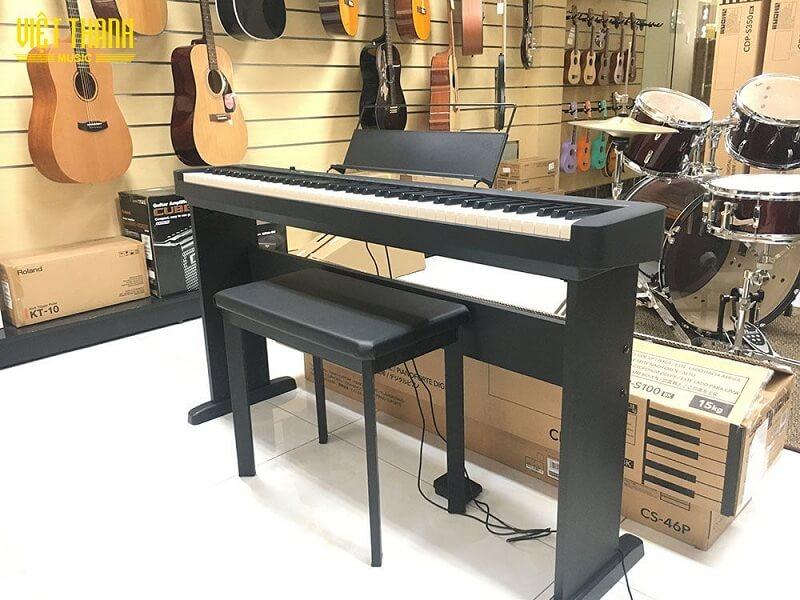 Model đàn piano điện Casio CDP-S100 một trong những cây đàn piano điện giá rẻ nhất thị trường hiện nay