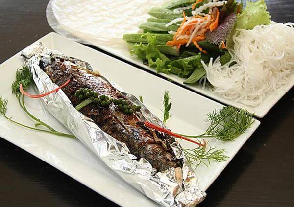 Cách lám món cá ngừ đại dương nướng giấy bạc