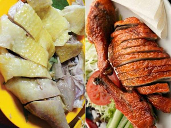 Sự khác nhau giữa thịt gà, thịt vịt và thịt ngan