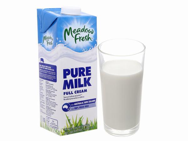 Sữa tươi nguyên kem Meadow Fresh thơm ngon, mát lành