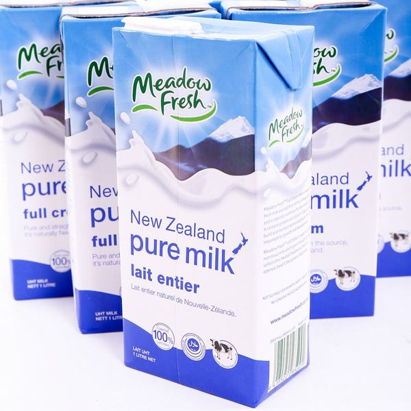 Bảo quản sữa tươi nguyên kem trong tủ mát
