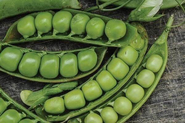 Đậu Hà Lan: Có chứa 22.2g protein trong 100g