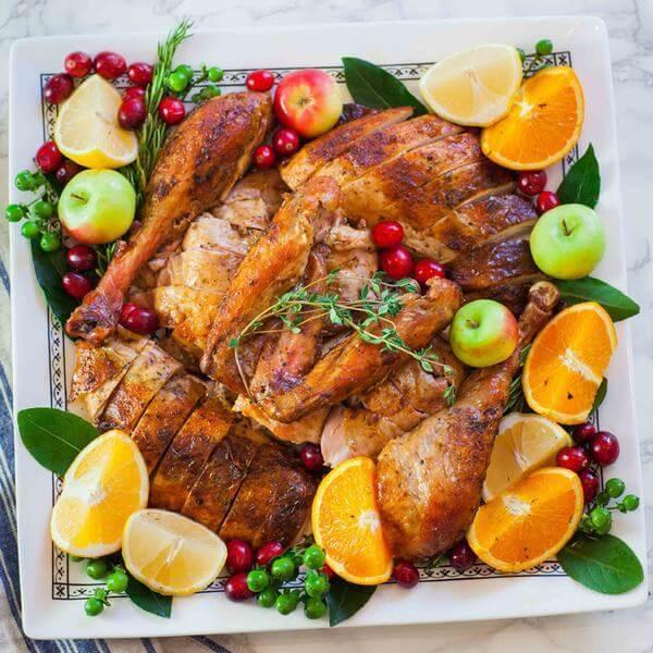 Gà tây: 100g gà tây cung cấp 13g protein
