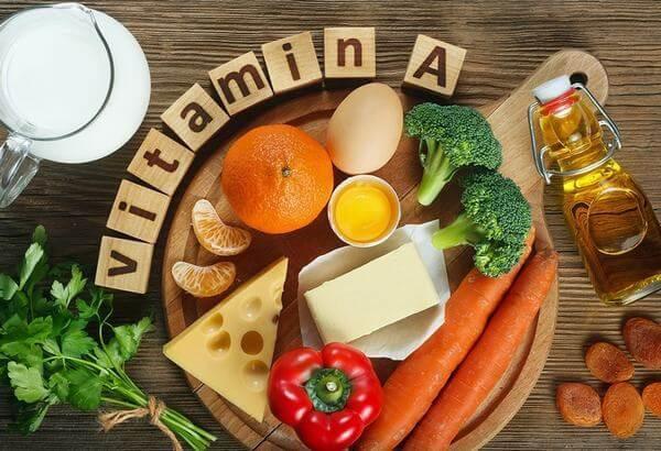 Vitamin A ảnh hưởng tới sự hình thành các tế bào da.