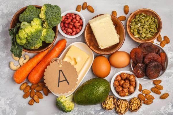 Những loại thực phẩm giàu vitamin A tốt cho mắt và sức khỏe của bé