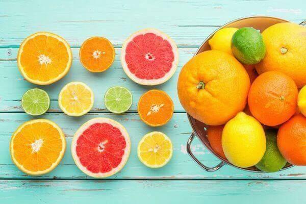 Cam chứa nhiều Vitamin A