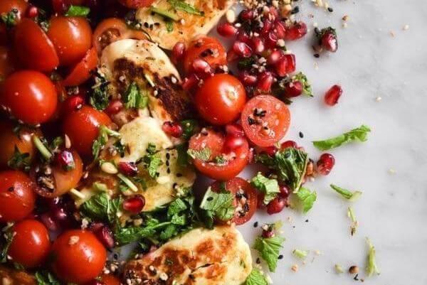 Cà chua xuất hiện trong mọi bữa ăn