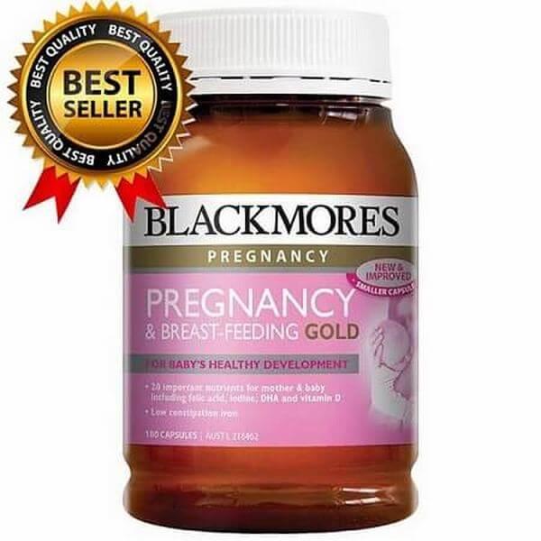 Vitamin tổng hợp cho bà bầu Blackmores Pregnancy Gold của Úc 500k