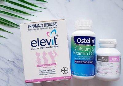 Các loại thuốc và vitamin tổng hợp cho bà bầu tốt chỉ từ 185k