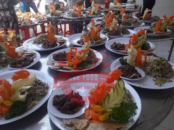 The Food Catering & Event service - Dịch vụ đặt tiệc tại nhà uy tín