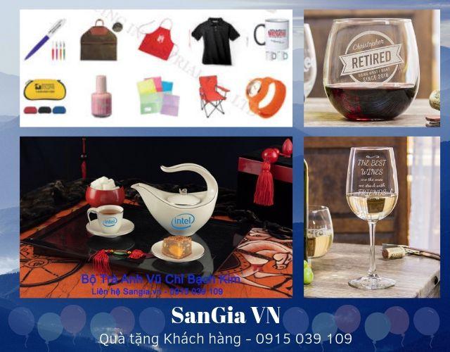 Danh Mục Quà tặng SanGia sẽ gửi cho khách hàng