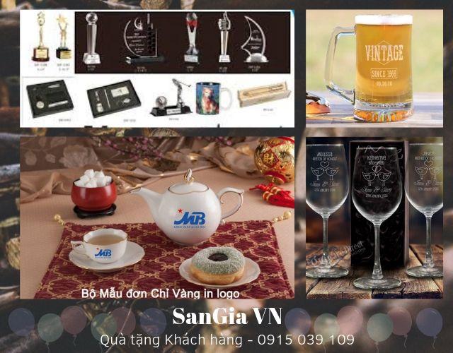 Quà tặng tri ân khách hàng tại SanGia VN rất phong phú đa dạng