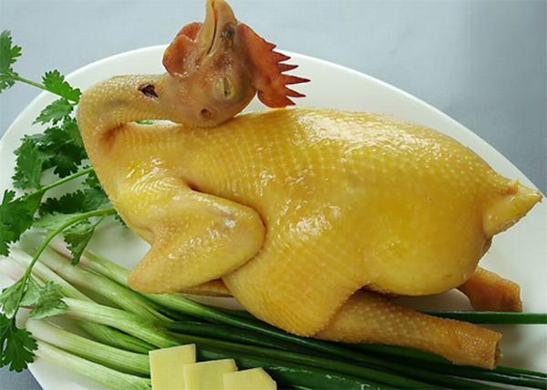 ách luộc gà không bị nứt da đẹp dùng để cúng