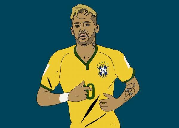 Cầu thủ Neymar da Silva Santos Júnior (1992): tiểu sử, lý lịch và các danh hiệu đạt được
