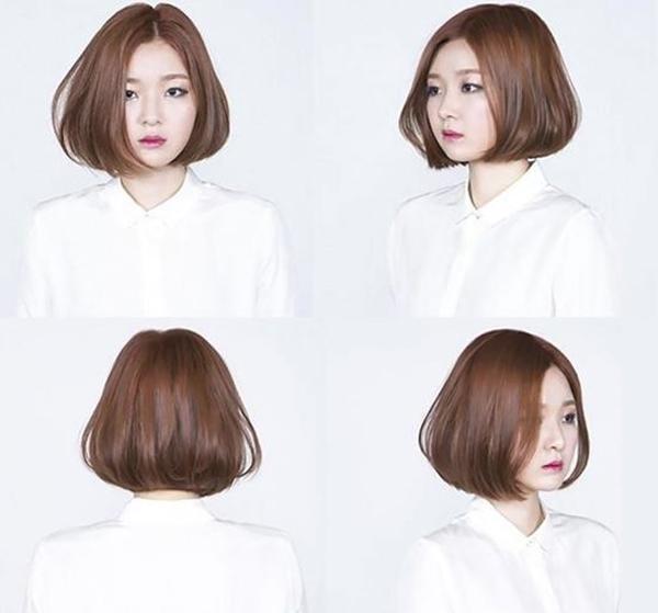 Tóc ngang vai uốn phồng Hàn Quốc cũng lọt vào trong top những kiểu tóc nổi tiếng
