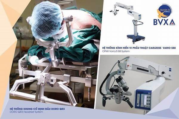 Đây là các thiết bị y tế tiên tiến xuất xứ từ Đức để phục vụ trong các ca phẫu thuật phức tạp