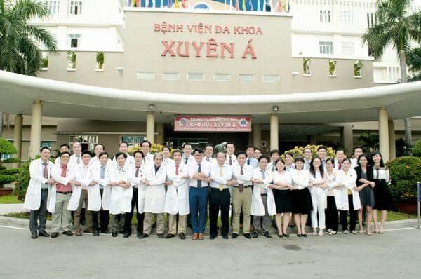 Đội ngũ Ban Giám Đốc và nhân sự bệnh viện Xuyên Á