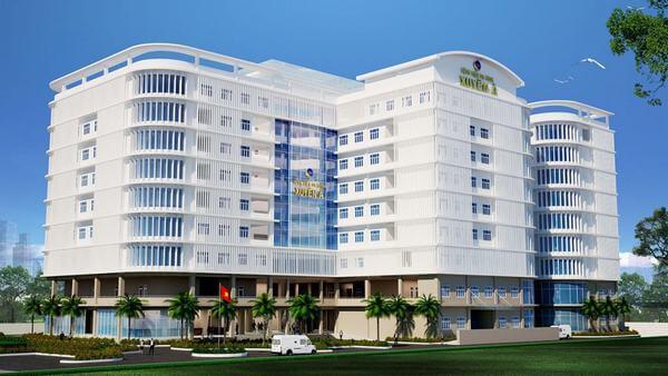 Bệnh viện Xuyên Á - TP. HCM: Tọa lạc trên quốc lộ 22, ấp Chợ, xã Tân Phú Trung, huyện Củ Chi, Tp.Hồ Chí Minh