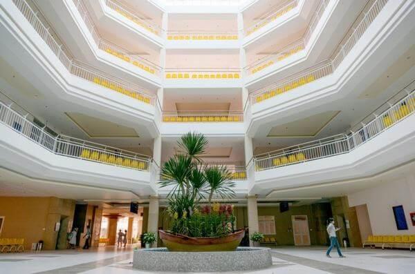 Bệnh viện Xuyên Á là một bệnh viện không mùi, tạo cảm giác thoải mái