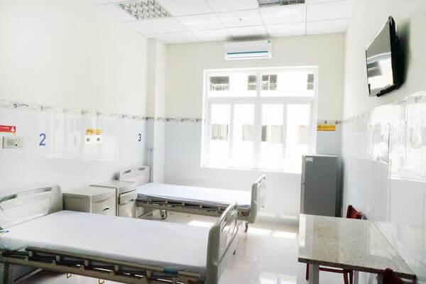 Phòng nội trú được Bệnh viện Xuyên Á chú trọng đầu tư chuẩn mực.