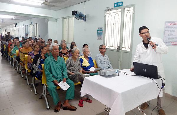 Bệnh viện Nhân dân 115 gồm có các chuyên khoa